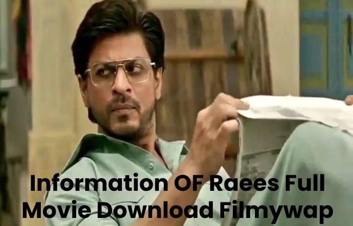 Information OF Raees Full Movie Download Filmywap